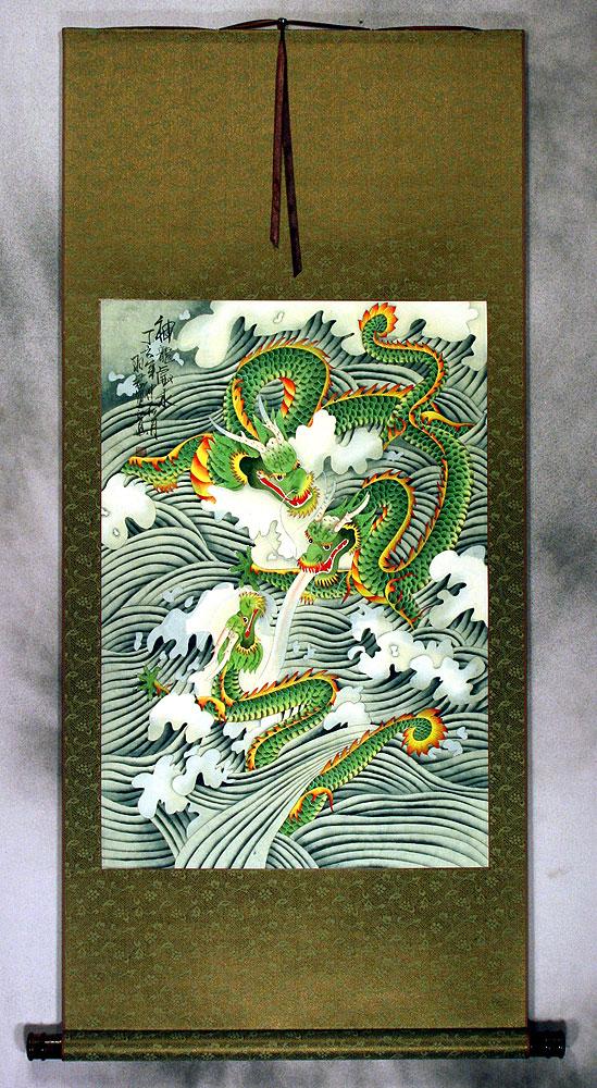 Asian oriental wall scrolls