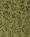 Medium Green Silk Brocade
