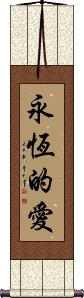 Eternal Love Vertical Wall Scroll