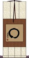 Enso - Japanese Zen Circle Scroll