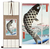 Fish Windsock<br>Japanese Woodblock Print Repro<br>WallScroll