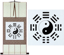 Ba Gua / Yin Yang Symbol<br>Chinese Scroll