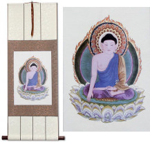 Buddha Print<br>Wall Scroll