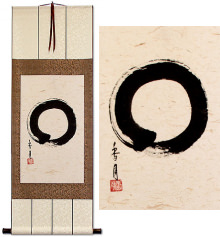 Enso Japanese Symbol<br>Wall Scroll