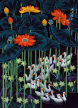 Daffodil Ducks Return Home<br>Chinese Folk Art Painting