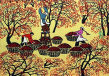 Picking Fruit<br>Chinese Folk Art Painting