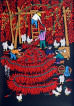 Red Hot Chili Peppers<br>Chinese Folk Art Painting