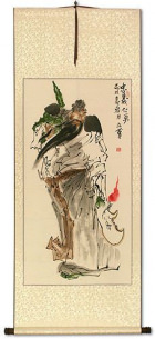 Guan Gong Warrior Saint Wall Scroll