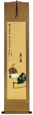 Drink and Sing - Enjoy the Moment - Wall Scroll