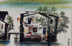 Bridge of Suzhou<br>Asian Venice Painting