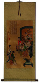 Musicians - Large Wall Scroll
