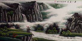Huge Landscape Painting