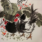 Chinese Chicken/Rooster Painting