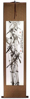 Traditional Chinese Bamboo Wall Scroll
