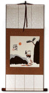 The Sun Will Rise Again - Chinese Philosophy Wall Scroll