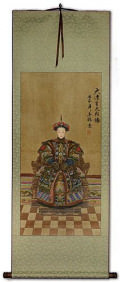 Empress Wall Scroll