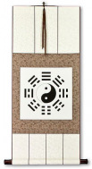 Yin Yang Bagua Print Wall Scroll