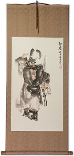 Zhong Kui - Ghost Warrior Wall Scroll