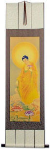 The Buddha Shakyamuni - Giclee Print - Wall Scroll