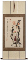 Longevity Saint Wall Scroll