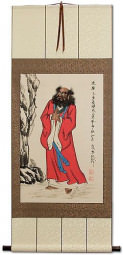 Damo Buddha Wall Scroll