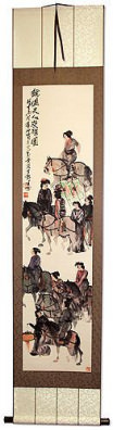 Riders on Horseback - Horses Wall Scroll