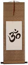 Om Symbol - Buddhist / Hindu Wall Scroll