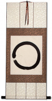Enso Zen Circle Wall Scroll