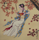 Elegant Asian Woman Asian Art