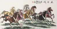Large  Horse Asian Art
