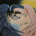 Angels Embrace<br>Custom Painting