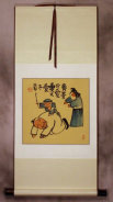 The Mighty Army General - Ancient Chinese Philosophy Wall Scroll
