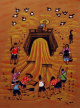 Abundant Year<br>Good Harvest<br>Chinese Folk Art Painting