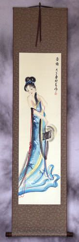 Xi Shi - Most Beautiful Woman in Asian History - Wall Scroll