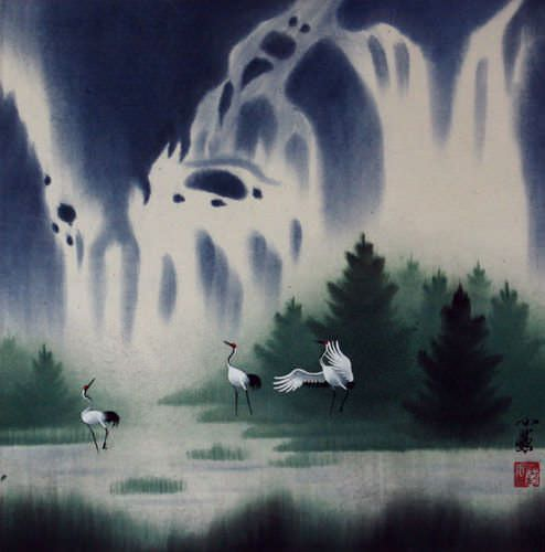 Song of the Spring Waters - Asian Landscape Painting