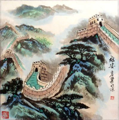 The Great Wall - Landscape Painting