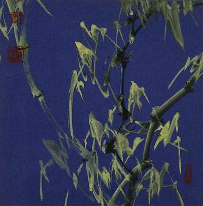 Bamboo Dawn<br>Chinese Painting