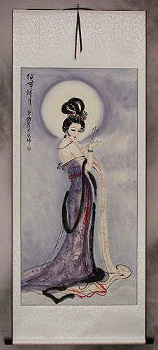 Diao Chan - Famous Beauty of China Wall Scroll