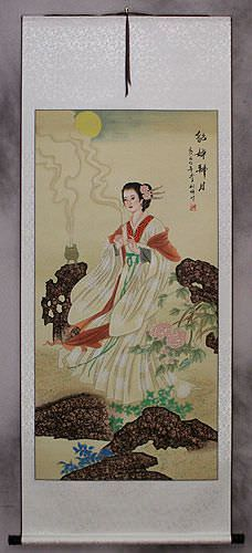 Diao Chan<br>Famous Beauty of China<br>Wall Scroll