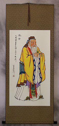 Confucius Great Sage<br>Wall Scroll