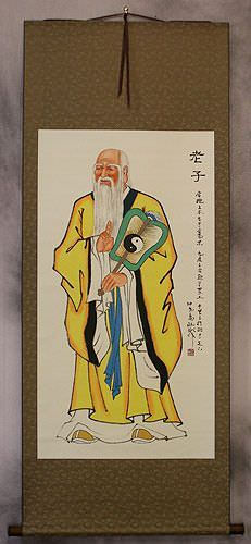 Wisdom of Lao Tzu / Laozi Wall Scroll