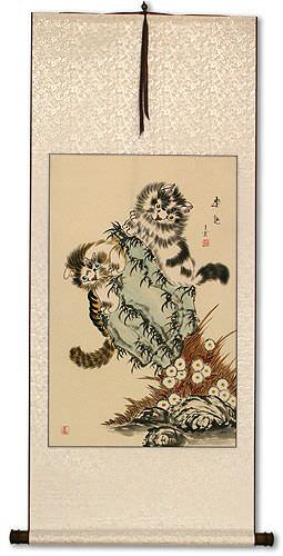Cats / Kittens Wall Scroll
