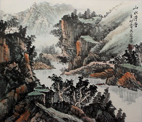 Landscape of China Painting
