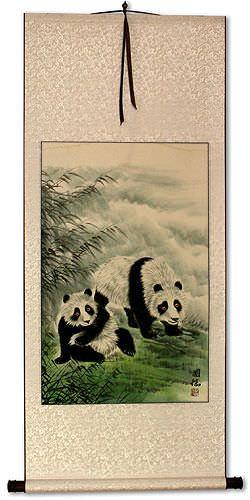 Panda Wall Scroll