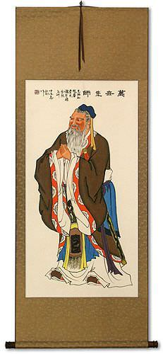 Confucius<br>Wisdom of the Ages<br>Wall Scroll