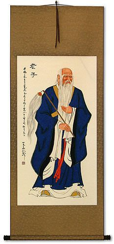 Confucius<br>Man of Wisdom<br>Wall Scroll