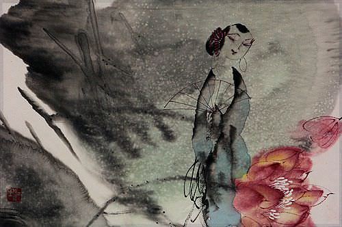 Jiang Feng's Abstract Asian Artwork