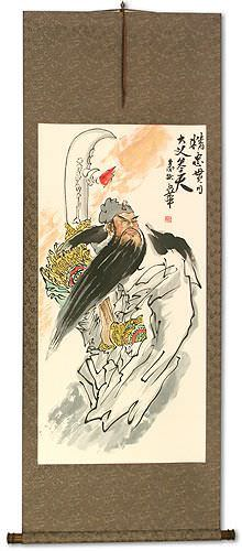 Ultimate Loyalty Warrior - Chinese Wall Scroll