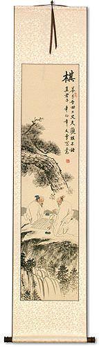 Chinese Weiqi Chess - Wall Scroll