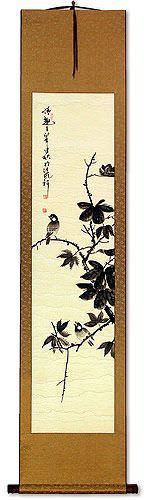 Birds Delight<br>Wall Scroll